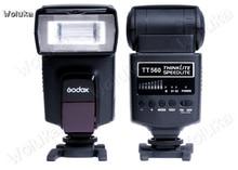 Godox TT560 Draagbare externe flash lamp voor top flitslamp SLR camera CD50 T07