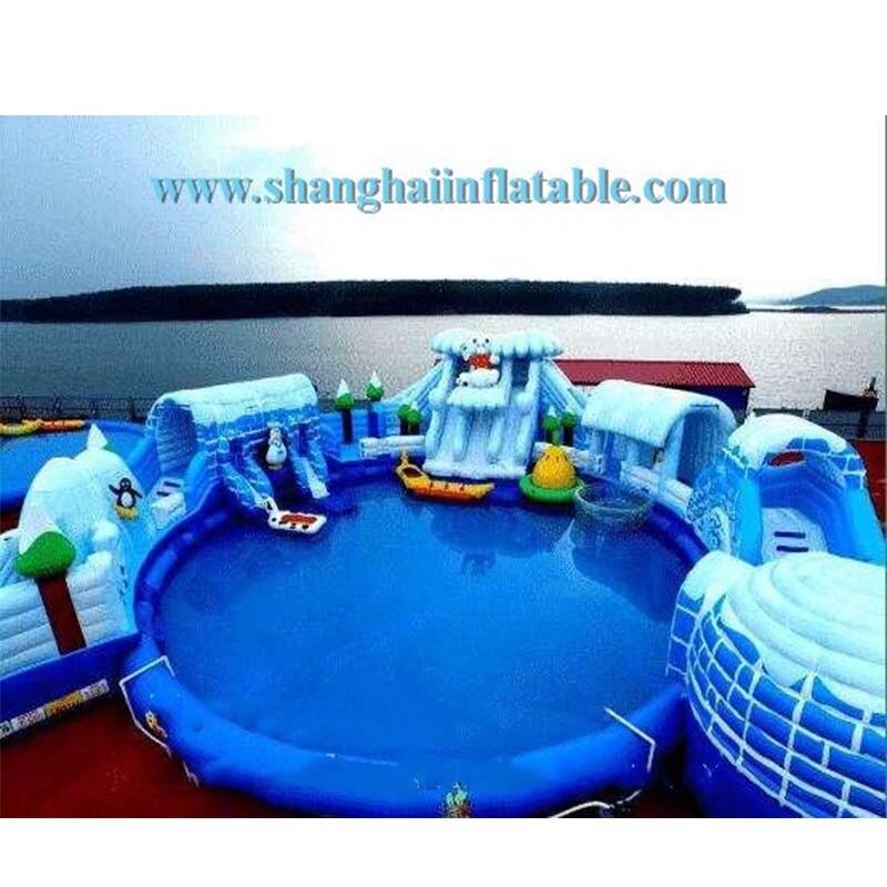 Parque de Atracciones, piscina gigante