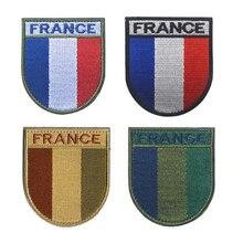 Französisch Armee Flagge F2 / FELIN Flagge Schild Armband Nationalität Identifikation Kapitel Stickerei Patch Armband armband Abzeichen