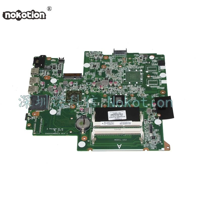 NOKOTION DA0U52MB6E0 703855-501 703855-001 Laptop motherboard For HP Pavilion Sleekbook 14 14-B Main board full test