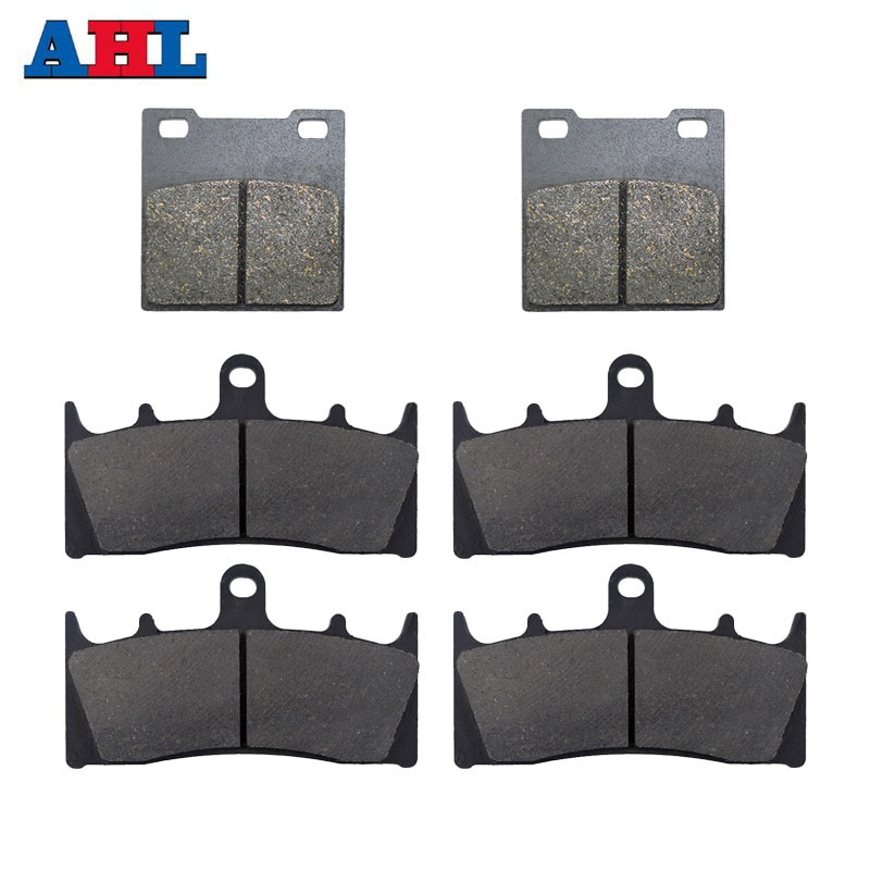 motorcycle parts front and rear brake pads discs kit for for cbr 600 f4 f4i motorcycle accessories Motorcycle Parts Front & Rear Brake Pads Kit For KAWASAKI Ninja ZX7R ZX750 ZRX1100 ZRX1200 ZRX1200S ZX1200 ZX12R Brake Disk