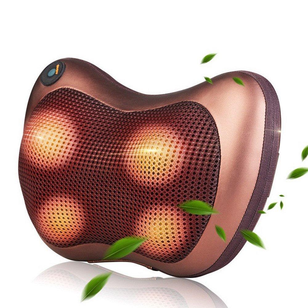 وسادة تدليك كهربائية متعددة الوظائف للسيارة والمنزل ، مدلك شياتسو للعنق والظهر والخصر