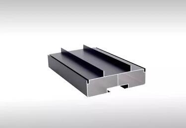 Gran venta 1 m/unids 6 unids/lote /lote Gicl 11530 S led perfiles de aluminio marco led negro marco interior exterior led señal la pantalla
