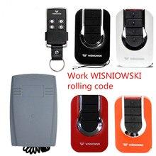 Livraison gratuite remplacement de la télécommande 4GO 433.92 MHz Keeloq Wisniowski récepteur 433mhz