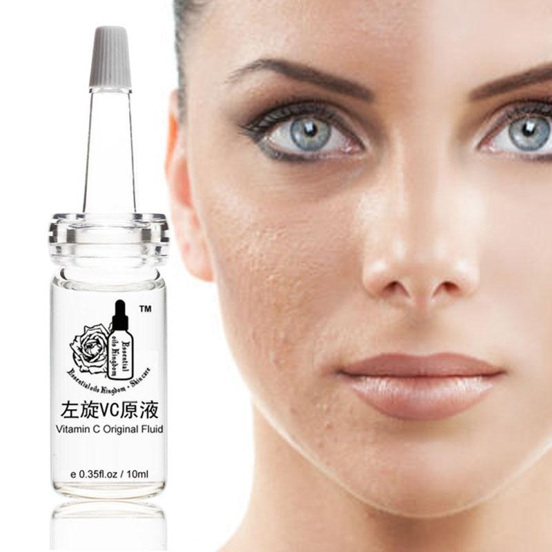 Vitamin C Original Fluid Antioxidant concentrate Best Topical Moisturizer Potent Anti Aging Serum Whitening Essence 10ml*pcs vc