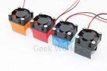 DIY Reprap 3D V6 Lüfter mit Fan Gehäuse Schutz Spritzguss Lüfterkanal