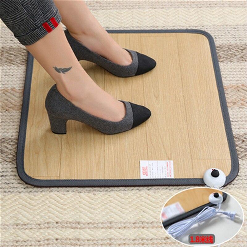 SF-9, משרד חימום רגל Mat חם עור רגליים חמות כרית חימום חשמלי תרמוסטט שטיח ביתי התחממות כלים