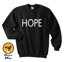 Espoir mot petit haut Dope Swag Tumblr dessus tendance sweat-Shirt à col rond unisexe plus de couleurs XS - 2XL