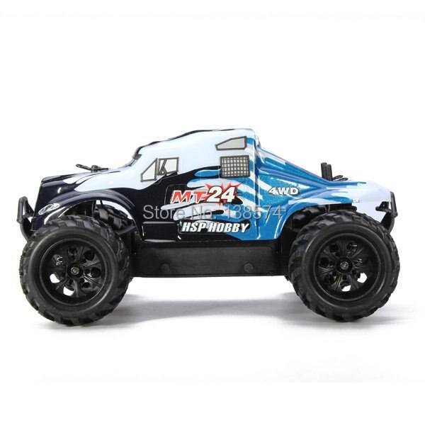 HSP Rc coche eléctrico 4wd Mini Hobby 1/24 escala Off Road Monster camión 94246 juguetes de Control remoto juguetes electrónicos Rc modelo