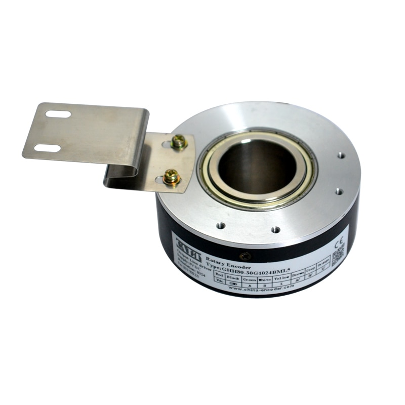Hollow Shaft Rotary Optic Encoder Speed Sensors Applied In Elevator customize 18 20 30mm hole new original heidenhain elevator rotary sincos encoder 5v ecn1313 2048 id768295 54