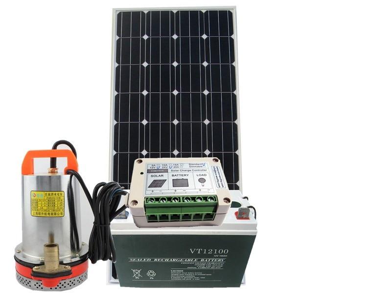 Sistema de bomba de agua solar 12 voltios dc bomba para lavado de coches Tasa de repedido de hasta 80%