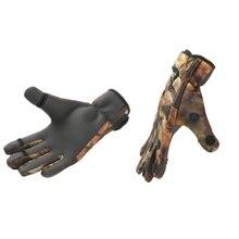 Sport Leather  Keep Warming Fishing Gloves Breathable Anti-Slip Glove Neoprene Fishing Equipment Equipamento De Pesca