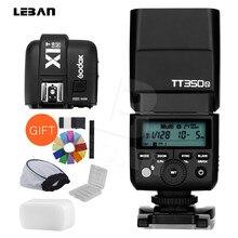 Godox – appareil photo numérique sans miroir TT350N 2.4G HSS 1/8000s TTL GN36, Flash Speedlite, avec déclencheur de Flash Godox X1T-N