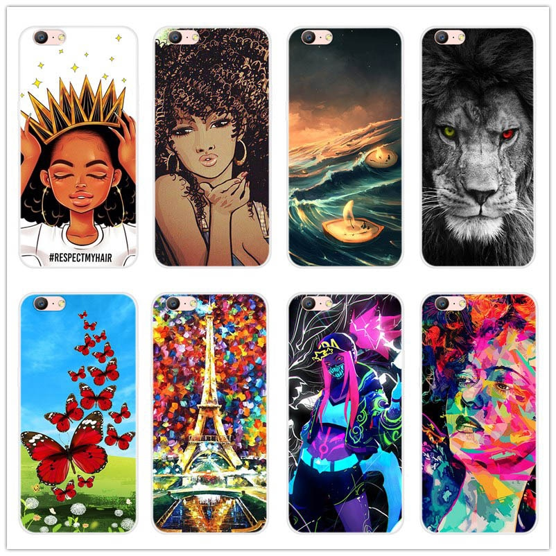 Phone case For Fundas OPPO A59 Cover Ultra Thin Soft TPU  Silicone Case For OPPO A59 Back covers Coq