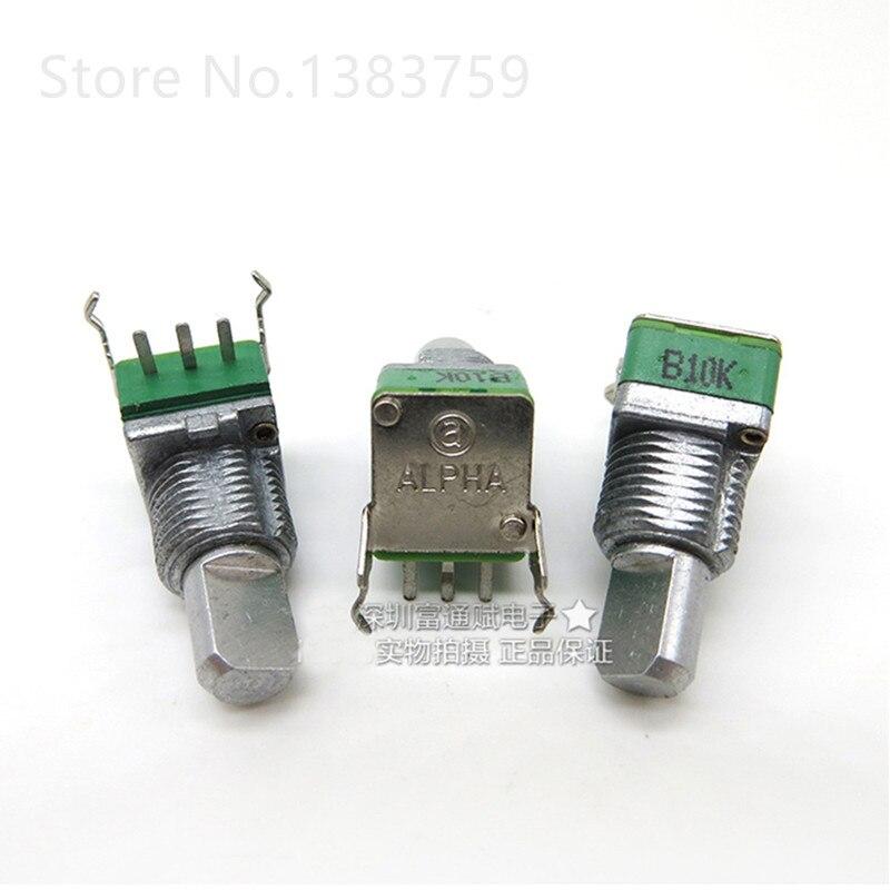 Precision RD901F-B10K B20K B100K A250K 15MM half shaft single unit potentiometer