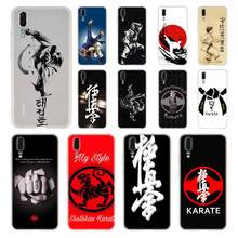 Funda de teléfono con símbolo de kárate Kyokushin para Huawei P40 P9 P10 P20 P30 Lite, funda suave Pro P Smart 2019