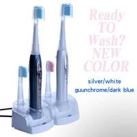 Sonic Electric Toothbrush 1 set 8 extra brushhead Litpack oral hygiene STBR-N001 rechargeable waterproof sonic Toothbrush