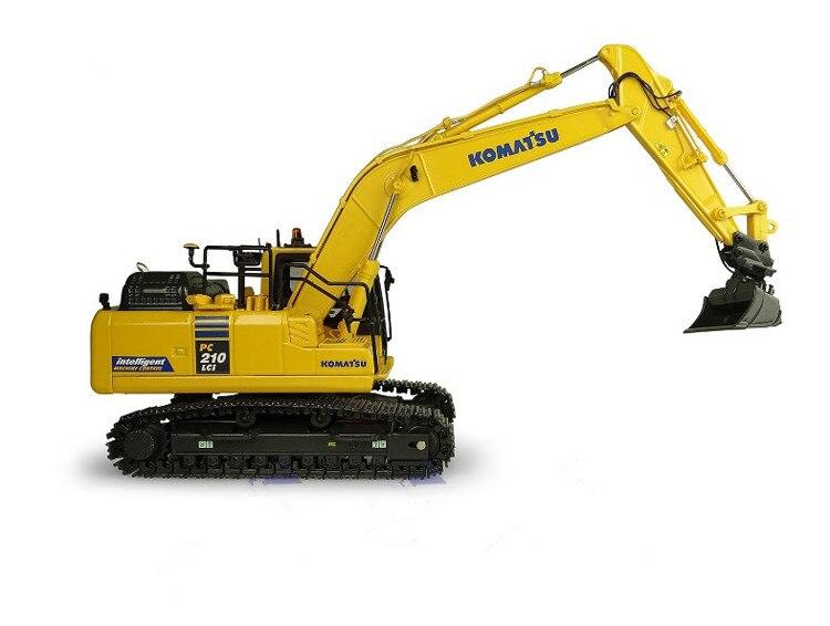 Colección UH8123 150 Komatsu PC210LCi-11 IMC edición hidráulica maquinaria para construcción excavadora fundición modelo de juguete Decoración