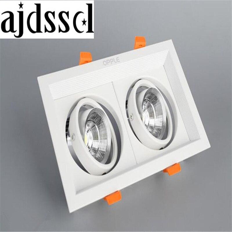 Светодиодный потолочный светильник, светодиодный потолочный светильник, вращающийся светильник 110 В, теплый/белый, поверхностный монтаж, в...