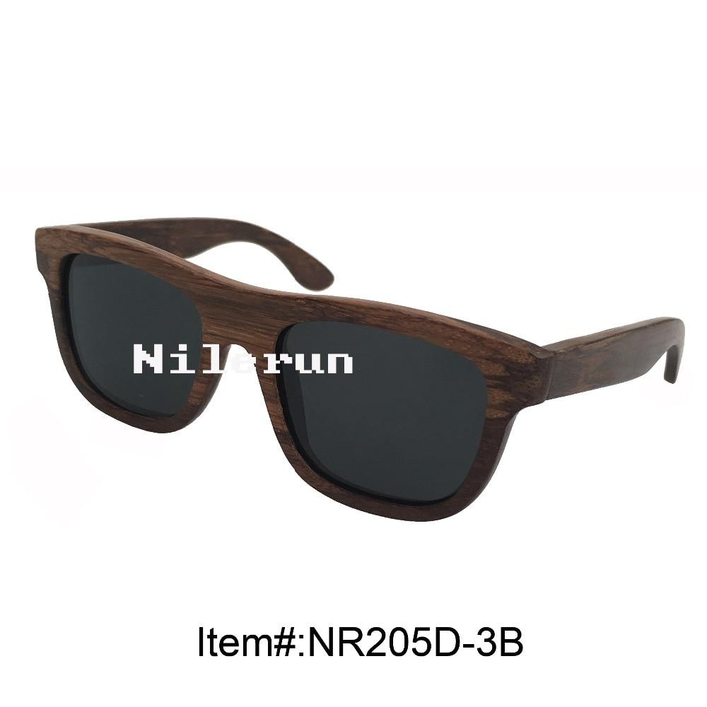 popular black chicken wing wooden sunglasses