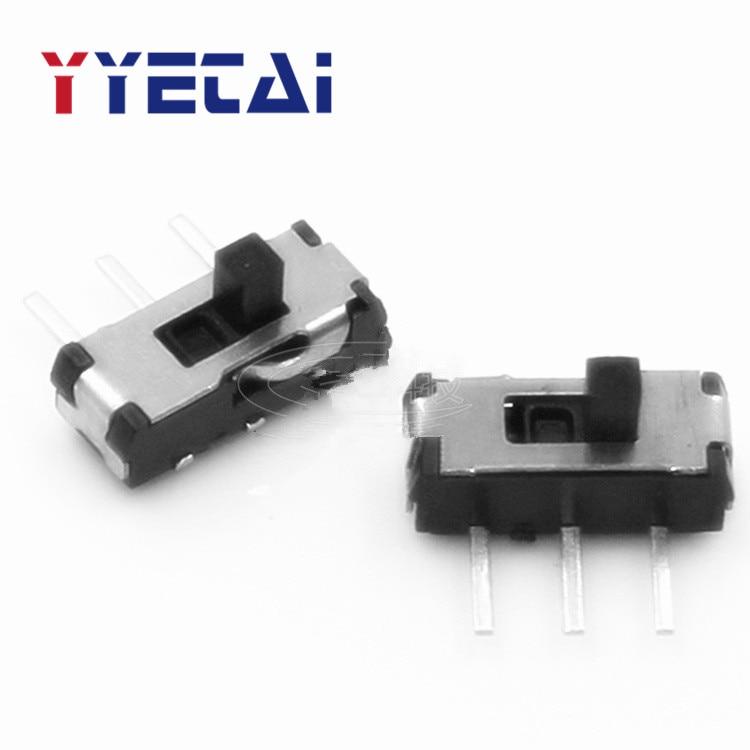 YongYeTai MSS22D18 interruptor de acción de tres puntas 3P interruptor Horizontal interruptor de palanca lateral interruptor de deslizamiento envío gratis