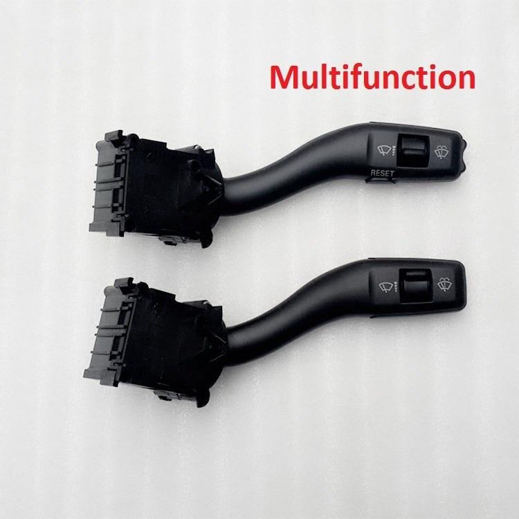 Multifunction Window Wiper Switch Control Stalk For A4 B6 B7 A6 S6 C6 A8 D3 3 Seat Exeo 4E0953503 4E0953503F  4E0 953 503 F