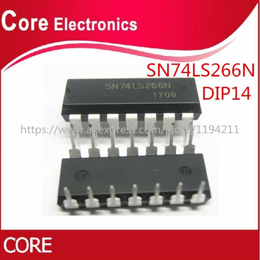 100pcs/lot SN74LS266N 74LS266 DIP14