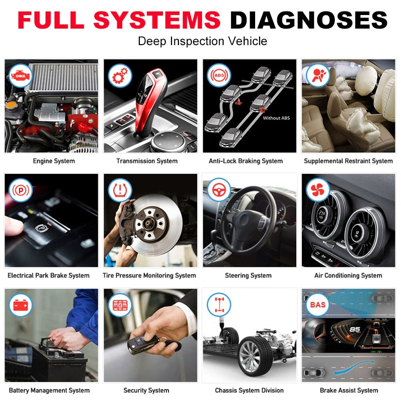 Autel MaxiPRO MP808 Diagnostic Tool OBD2 Professional OE-level OBDII Diagnostics Tool Key Coding PK Autel AP200 MK808 MK808TS