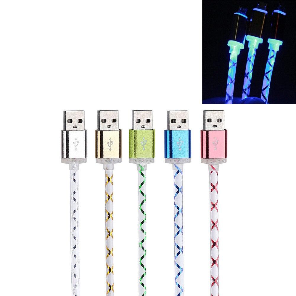 Micro USB кабель 2A 1 м Быстрая зарядка Плетеный алюминиевый Micro USB кабель для передачи данных и синхронизации для телефона Android Кабель зарядного устройства #30