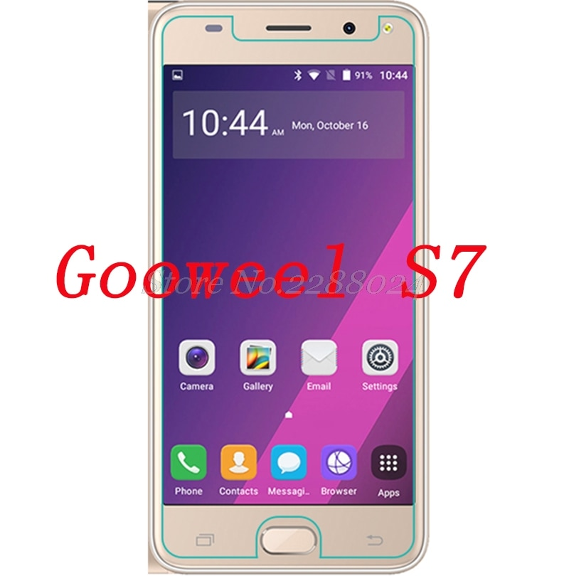 Smartphone Tempered Glass  for Gooweel S7 9H Explosion-proof Protective Film Screen Protector cover phone