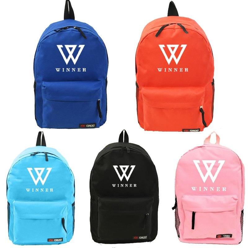 Youpop KPOP WINNER álbum bolsa de nailon Paquete de admisión de joyería K-POP nueva mochila de moda bolsas cosméticas SJB440