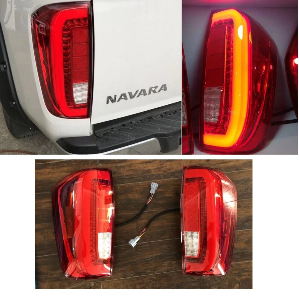 CITYCARAUTO, accesorios para coche de alta calidad, luces traseras led aptas para NISSAN NAVARA NP300 2015-2018, luz para camioneta