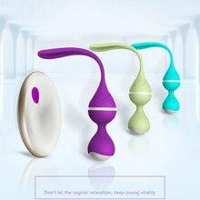 Omysky 10 modèle sans fil télécommande vagin balle vibrateur Sex Toys pour femmes Kegal Ball