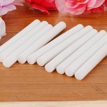 10 Uds muestra varillas con mecha esponjas para Mini humidificador difusor ultrasónico de aroma coche ambientador de aire de conjunto