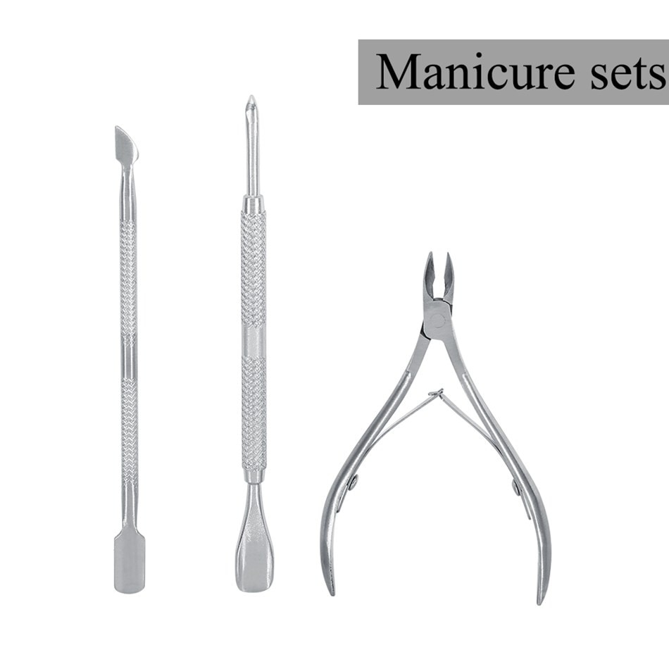 Кусачки для кутикулы из нержавеющей стали, набор для маникюра и педикюра, инструмент для удаления кутикулы