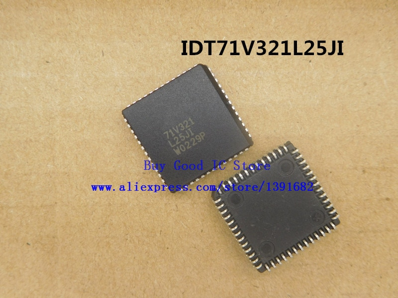 IDT71V321L25JI 71V321L25JI PLCC-52 2 unids/lote envío gratis
