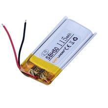 Easylander di ricambio 3.7V 115mAh Li-Polymer Li-Ion Batteria Per SONY SBH50 SBH-50 auricolare bluetooth
