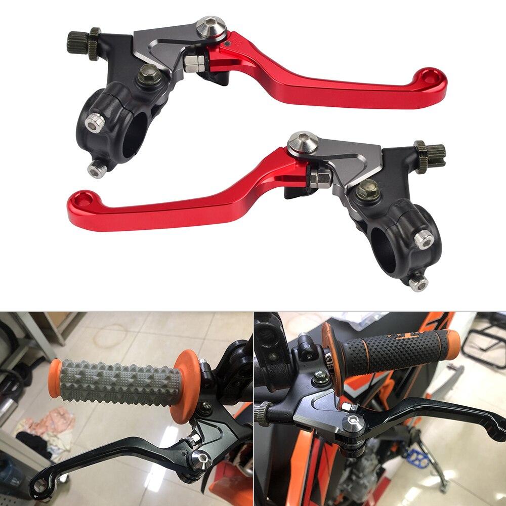 CNC Curto Brake Clutch Lever Para Honda CRF80F CRF70F CRF110F MT125K MT250K MR250 MR175K Elsinore TL125K TL250K TR200
