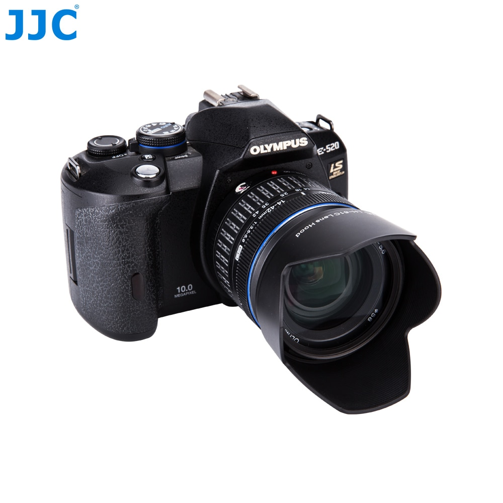 JJC Baioneta Lens Hood 58mm para OLYMPUS M. ZUIKO DIGITAL ED 14-150mm 14. 0-5.6 II substitui LH-61C