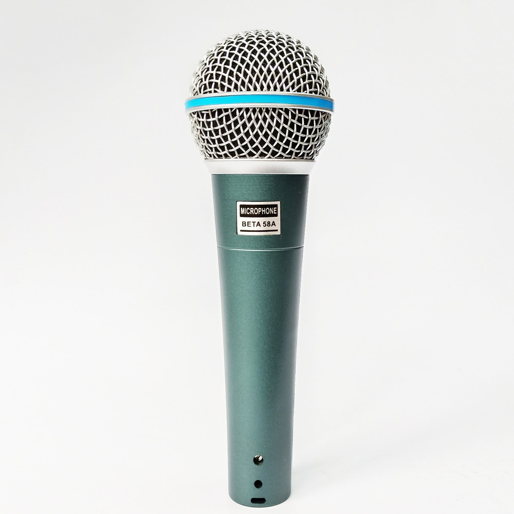 Micrófono dinámico de mano con cable para karaoke, para saxofón sm 58...