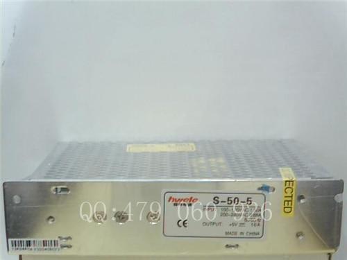 [JIYUAN] Heng Wei fuente de alimentación conmutada S-50-5 5V10A -- 3 unids/lote