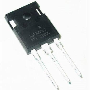 Pengiriman gratis 10 teile/los High power feld wirkung rohr RU190N08Q 190N08 100% Die original 80V190A IC...
