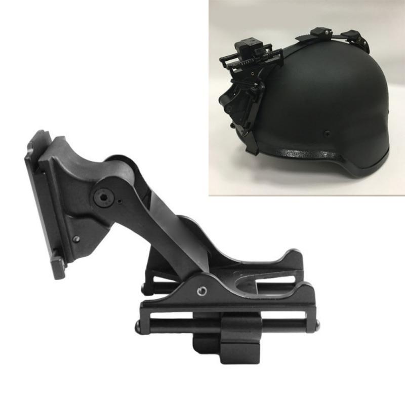 Airsoft Paintball rápido casco Kit de montaje para MICH rápido IBH M88 PVS-7 PVS-14 visión nocturna casco rinoceronte, brazo
