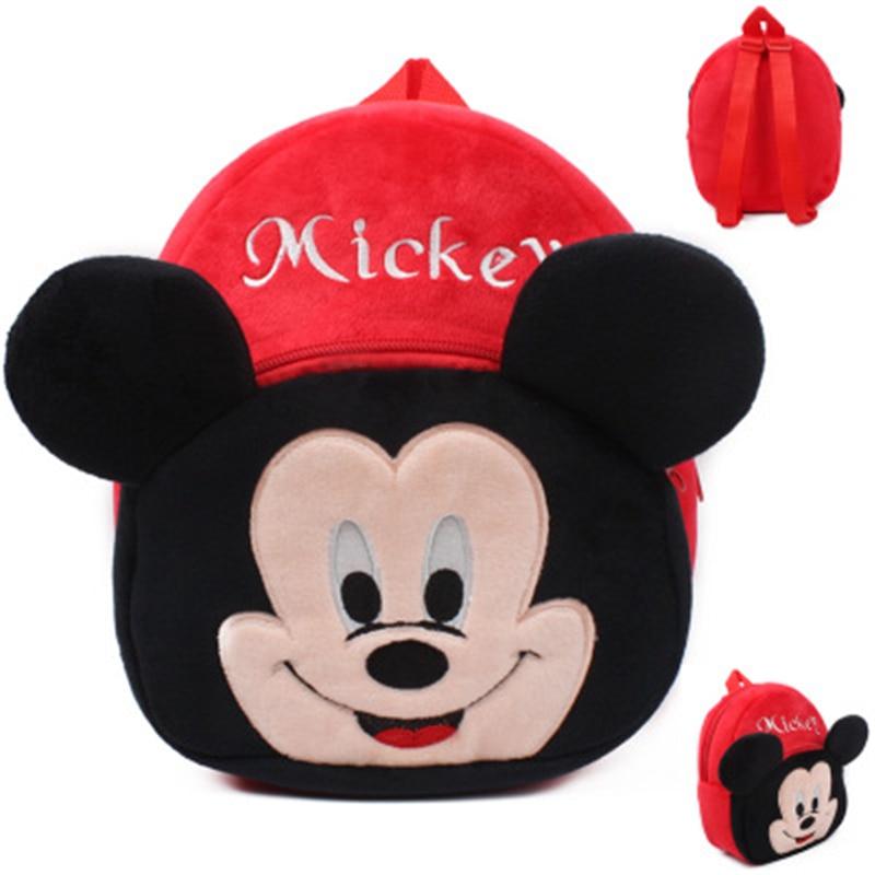 2019 New Baby lovely school bags kids plush backpack cartoon schoolbags Spiderman mini cute bags for kindergarten boy