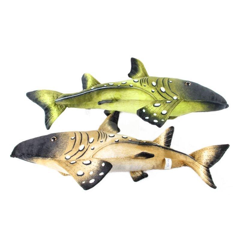 Leopard Long kiss dogfish plush toys 69cm size the emulational Wacky ideas stuffed plush toys freeshipping