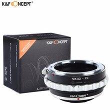 K & F CONCEPT Plus Récent Appareil Photo Lentille Bague Dadaptation Pour Objectif Nikon À Monture Fujifilm X X-Pro1 X-M1 X-E1 X-E2 M42 X-T1