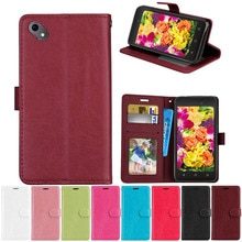 Wallet Leather Case For BQ BQ-5035 Velvet Cover Retro Flip Coque Phone Bag Shell Cover For BQ 5035 B