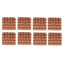 8 pièces/ensembles emballage dorigine cuivre dissipateur thermique adhésif arrière pour VGA GPU mémoire carte mère DDR VGA RAM mémoire IC refroidissement du jeu de puces