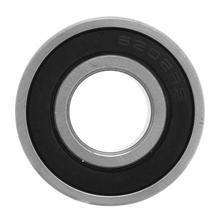 10pcs 6202-2rs 15x35x11mm Double-side Rubber Sealed Bearings 15° Single column Deep Groove Raceway Bearing Steel Ball Bearings