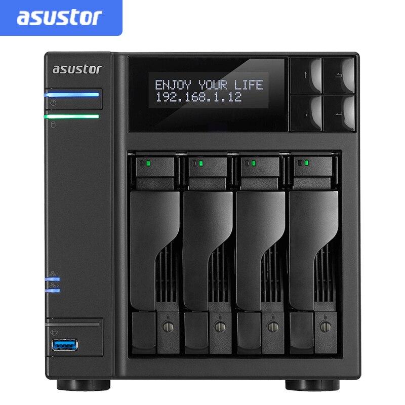 ASUSTOR AS6404T nas sans disque 4 baies, serveur nas nfs serveur de fichiers de stockage en nuage de stockage réseau, 3 ans de garantie
